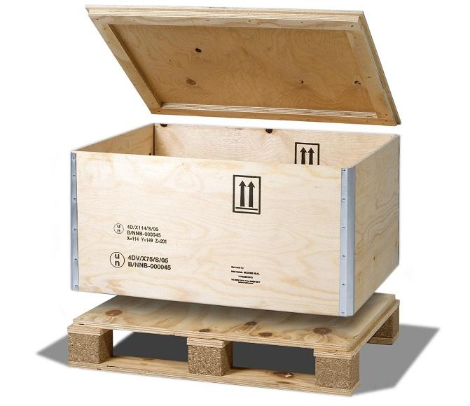 Ván ép hộp bảo vệ hàng hóa