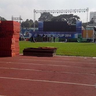 Cho thuê Pallet nhựa sự kiện Suzuki Cup