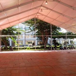 Cho thuê Pallet nhựa sự kiện Saigon Auto Show