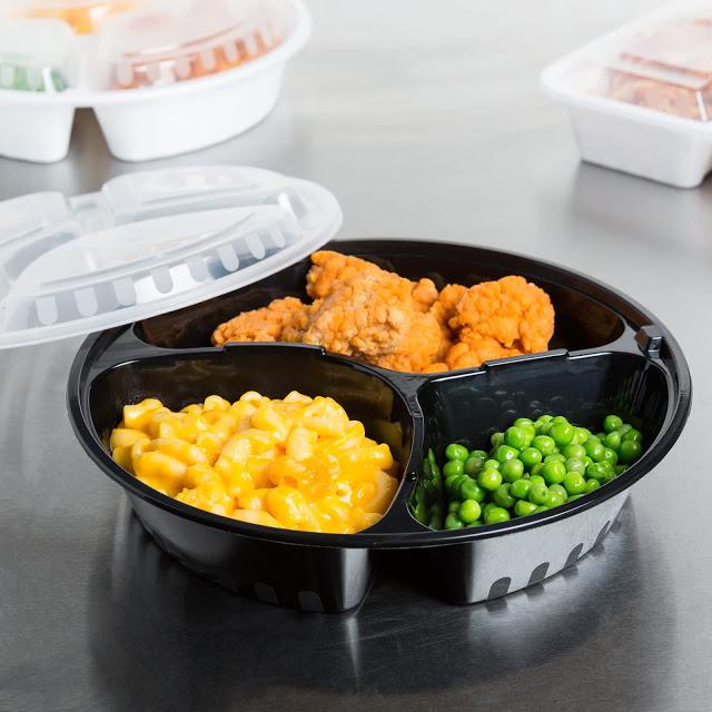 Hộp nhựa đựng thức ăn 3 ngăn
