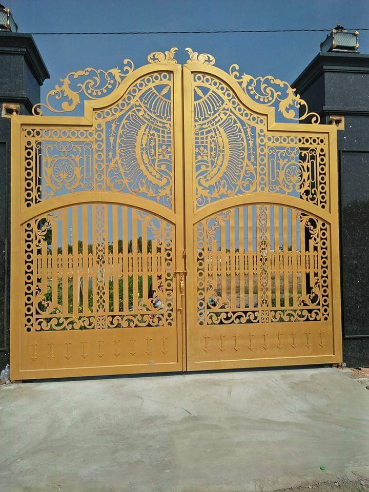 Cửa cổng CNC 11