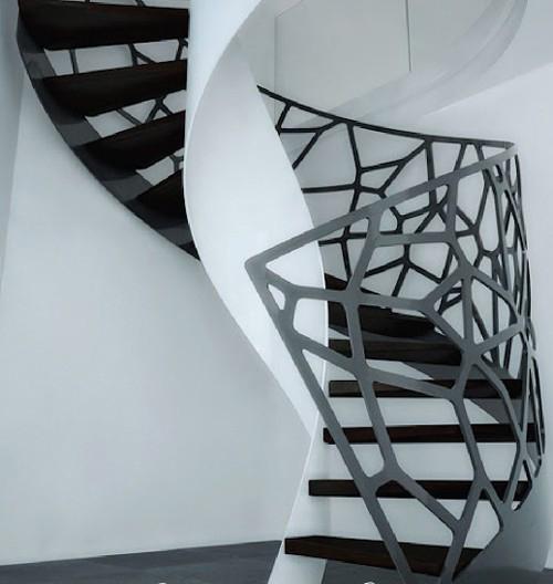 Cầu thang sắt 02