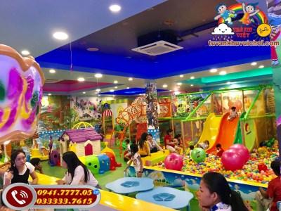 Khu vui chơi trẻ em tại Nam Định