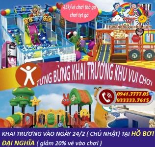 Khu vui chơi trẻ em tại Hà Tĩnh