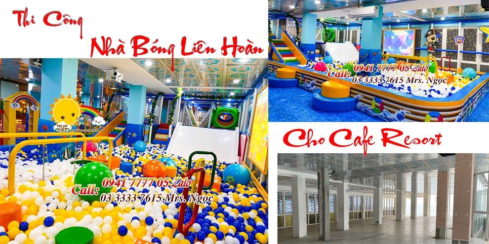 Dự án khu vui chơi liên hoàn cho quán cafe Resort
