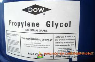 Dung môi PG-i - PROPYLENE GLYCOL công nghiệp