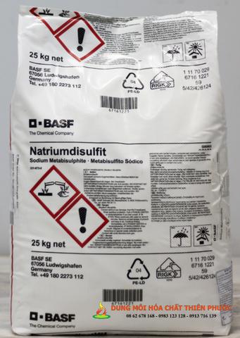 Natri metabisunfit - Sodium MetabiSunfite - Na2S2O5 - DUNG MÔI HÓA CHẤT THIÊN