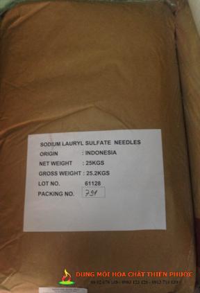 Sodium Lauryl Sulfate – Chất tạo bọt SLS