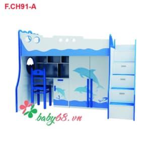 Giường tầng cá heo