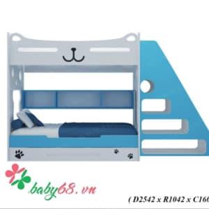 Giường tầng gấu mèo