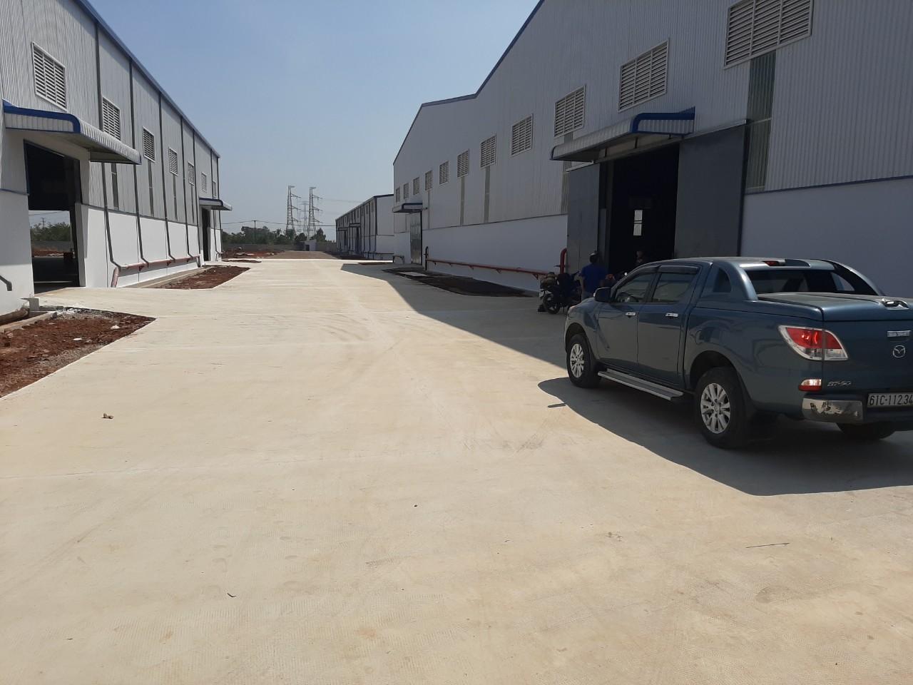 Thi công nhà xưởng Delta - Long Khánh