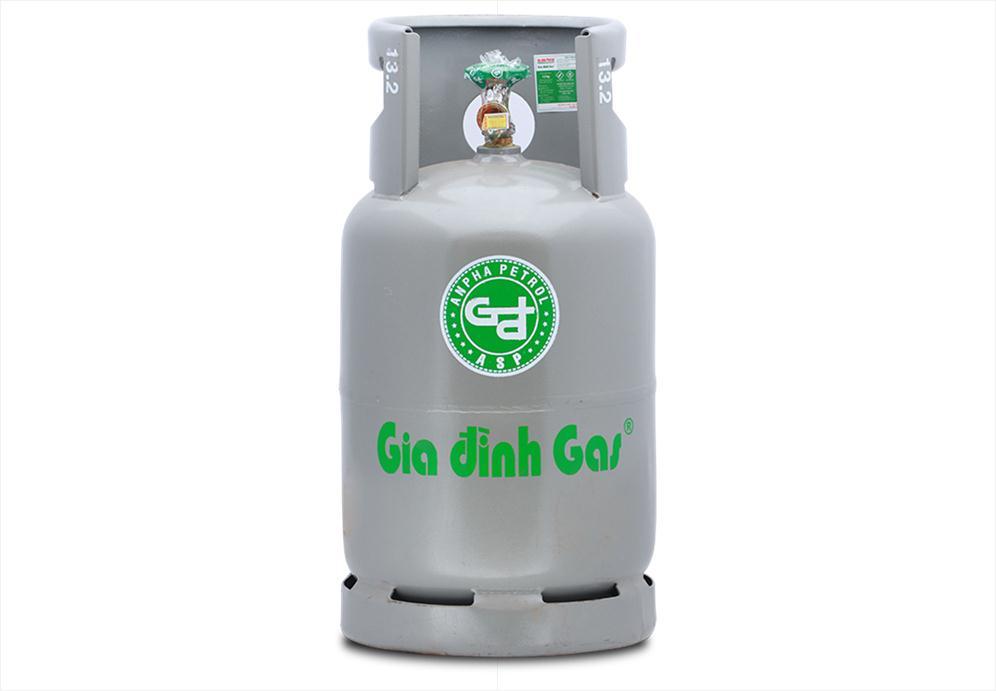 Gas Gia đình xám