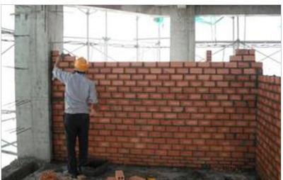Chống thấm cho tường đã xây gạch