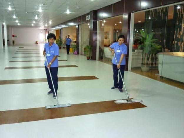 Cung cấp nhân viên vệ sinh theo giờ