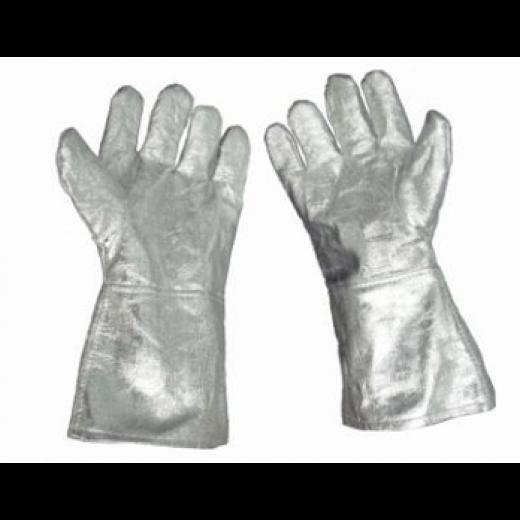 Găng tay chống cháy Amiang tráng bạc