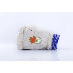 Găng tay len ngà