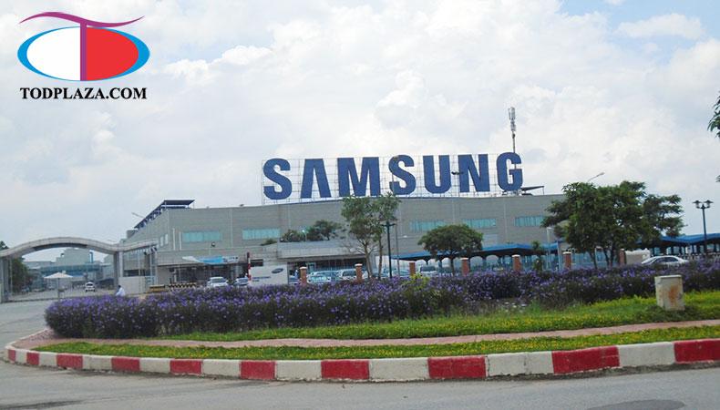 Cho thuê máy phát điện tại SamSung Bắc Ninh