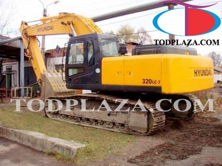Máy xúc đào Hyundai R320LC-7A