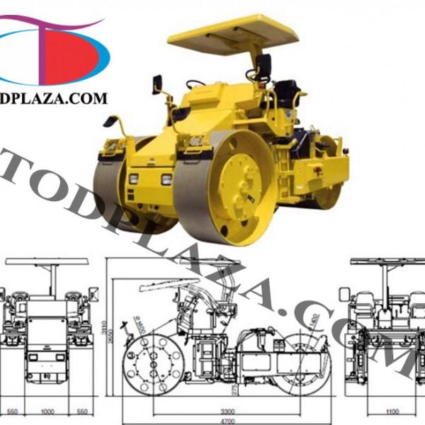 Xe lu tĩnh Sakai MW700-1