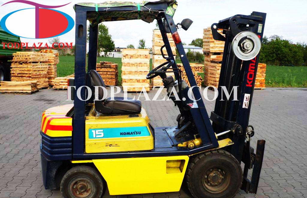 Xe nâng hàng Komatsu  1,5 tấn