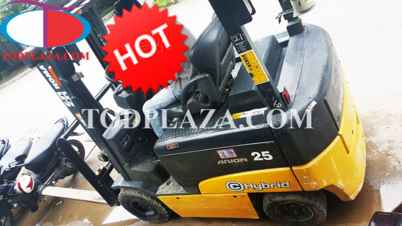 Xe nâng hàng Komatsu 2,5 tấn