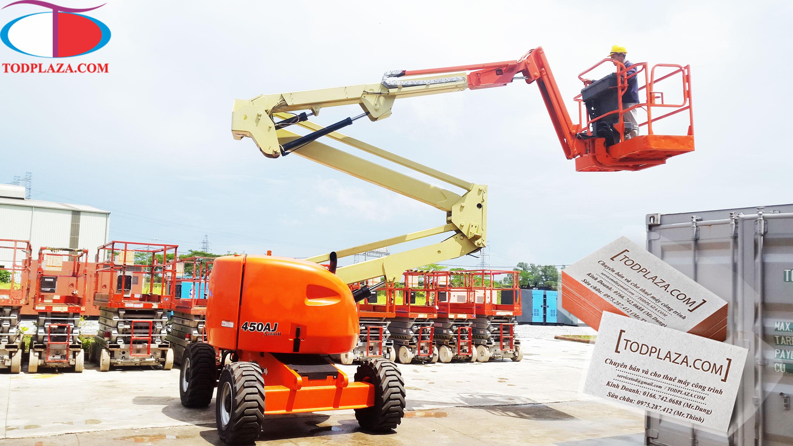 Xe nâng người JLG Z-Boom 450AJ 16m