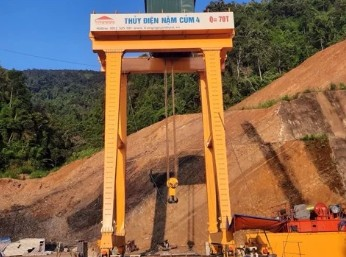 Dự án thuỷ điện Nậm Củm 4 Lai Châu