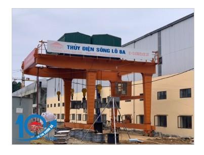 Cổng trục thủy điện