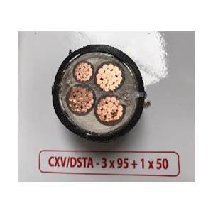Cáp điện ngầm CXV-DSTA 3x95v1x50 Cadivi