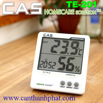 Nhiệt ẩm kế điện tử TE-201 CAS