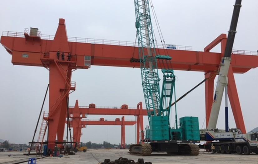 Cổng trục 2x25T - Cảng QT Nghi Sơn