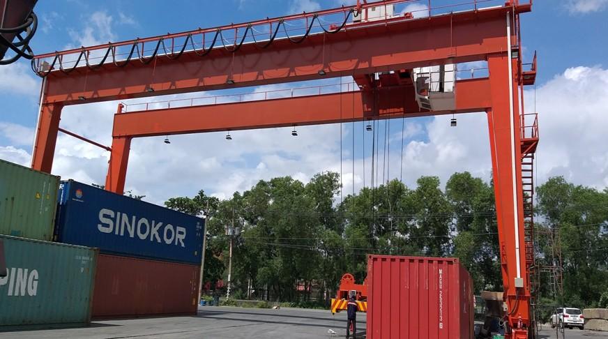 Cổng Trục container 40Tx27m  - KCN Cát Lái