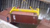 Khung chụp container bán tự động