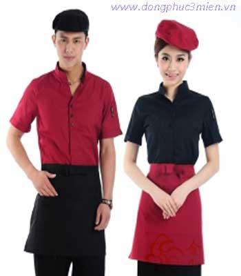 Đồng phục phục vụ bàn khách sạn