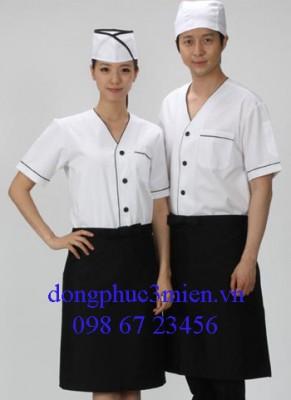 Đồng phục đầu bếp khách sạn