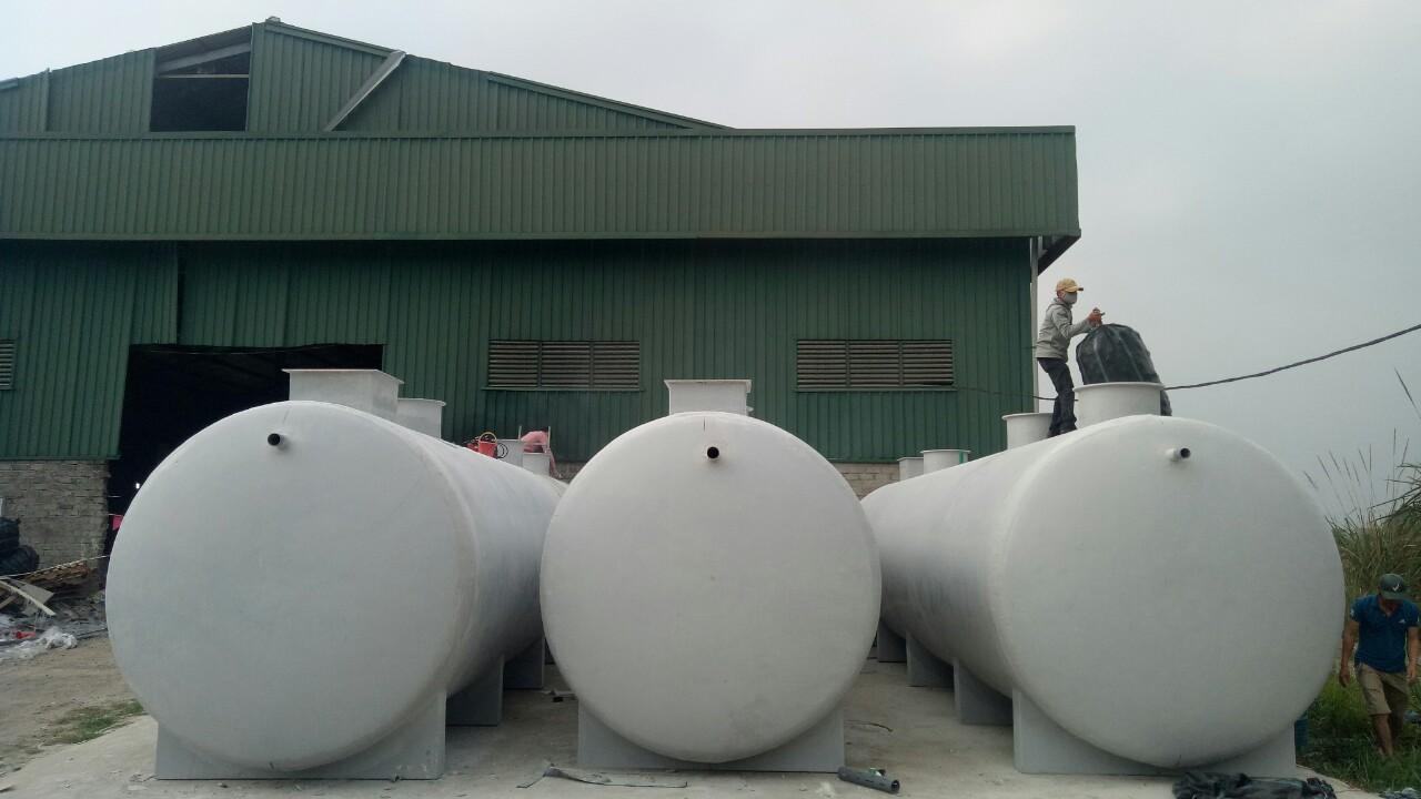 Bồn Composite xử lí nước thải