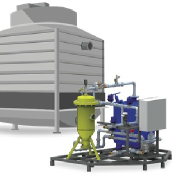 Cooling Tower Automatic Water Treatment System