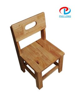 Ghế gỗ mầm non