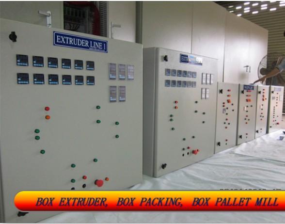 Lắp đặt tủ điều khiển PLC
