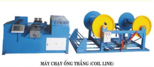 Máy chạy ống thẳng (Coll Line)