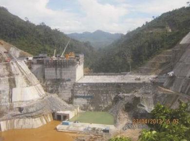 Nhà Máy Thuỷ Điện Sông Bung 2