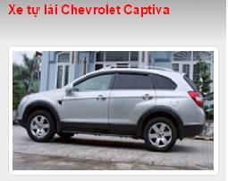 Cho thuê xe tự lái Chevrolet Captiva