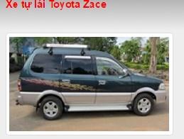 Cho thuê xe tự lái Toyota Zace