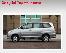 Cho thuê xe tự lái Toyota Innova
