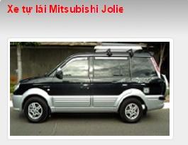 Cho thuê xe tự lái Mitsubishi Jolie