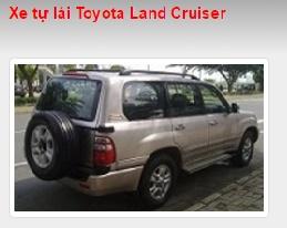 Cho thuê xe tự lái Toyota Land Cruiser