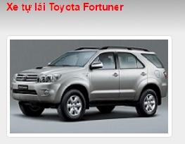 Cho thuê xe tự lái Toyota Fortuner
