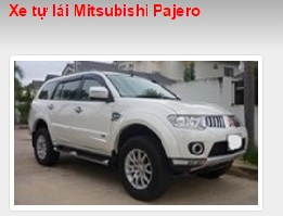 Cho thuê xe tự lái Mitsubishi Pajero