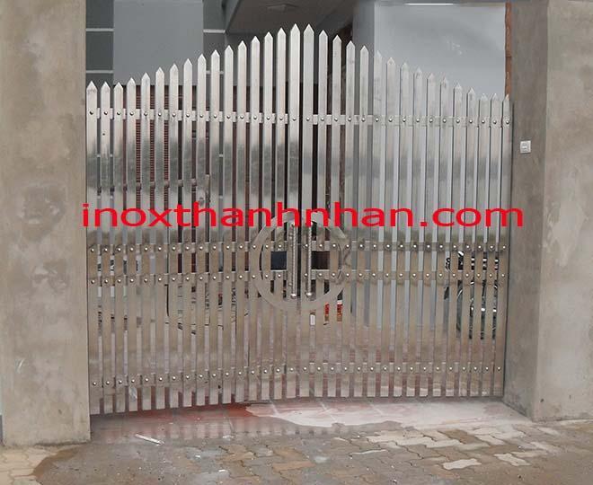 Cửa cổng inox MS - 204