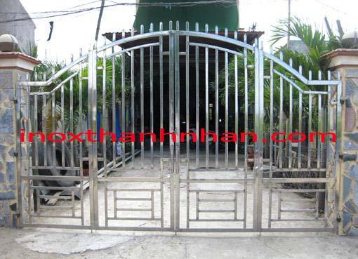 Cửa cổng inox MS - C02